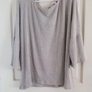 LC Lauren Conrad Bell Sleeved Shirt